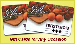Tersteeg's Gift Cards